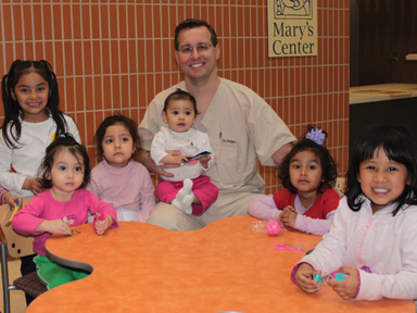 DOCS Education fellow treats tiny patients in underserved group