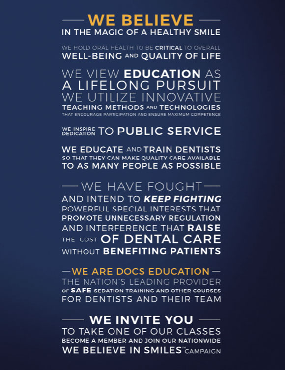 The DOCS Education Proclamation