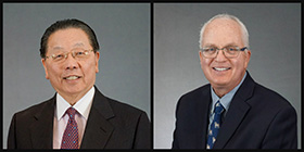Drs. Leslie Shu-Tung Fang and Anthony S. Feck