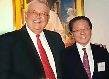 Bob Fazio and Les Fang met at Harvard Medical School on Day One and became lifelong friends and colleagues