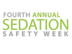 In honor of 2012 Sedation Safety Week, nominate a safety star!