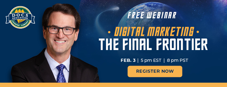 Free Webinar - Digital Marketing - The Final Frontier