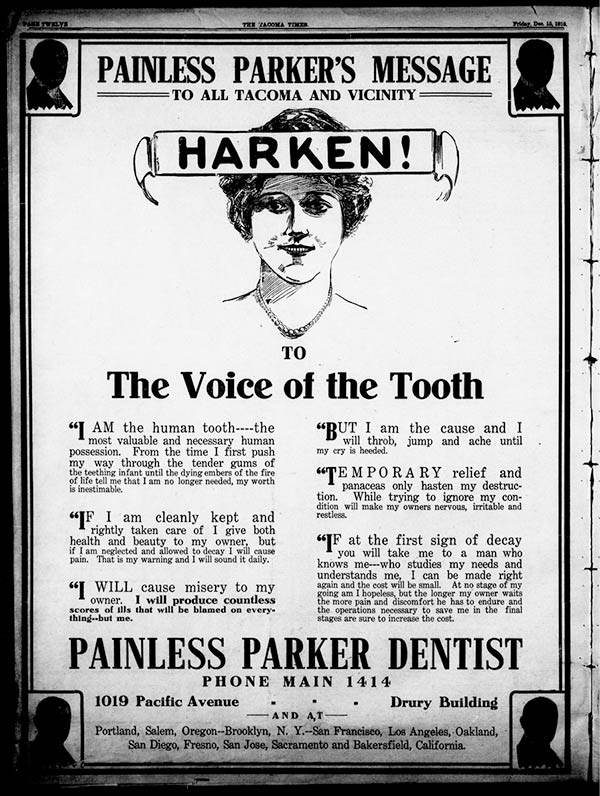 Old Dental Advertising