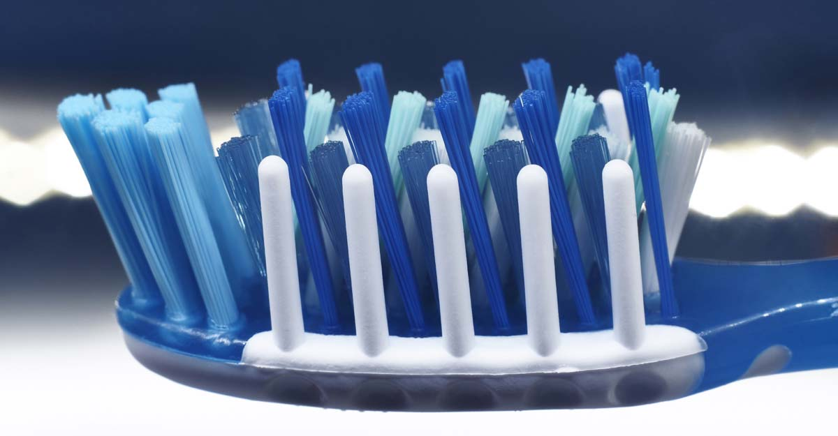 The true value of a toothbrush is concentrated on the head.