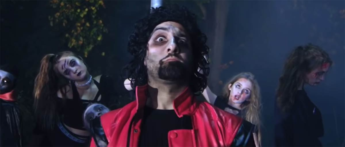 "Dr. Milad Shadrooh in his 2017 Halloween Video, ""Filler,"" a Parody of Michael Jackson's Thriller: ""If you eat too many sweets when you Trick or Treat, you may need a Filler."""